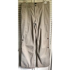 GAP Khaki Convertible Cargo Shorts Capris Pants